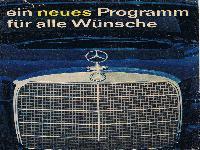 Mercedes Benz - Ein neues Programm für alle Wünsche