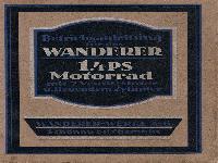 Betriebsanleitung Wanderer 1,4 PS Motorrad