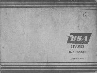 BSA Spares B40 Model