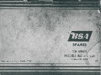 BSA Spares 250 Series