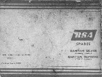 BSA Spares Bantam