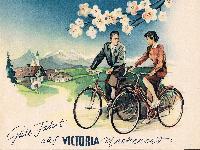 Gute Fahrt auf Victoria Markenrad