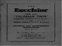 Excelsior 1954 manual