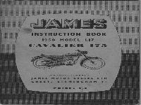 JAMES Instruction Book 1958 Cavalier