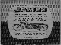 JAMES 1960-62 Instruction Book Flying Cadet