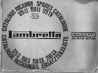 Lambretta 1967 Ersatztteilliste 125 LI, 150 LI, 175 TV