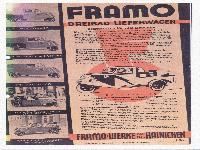 Framo Dreiradlieferwagen
