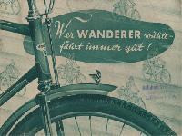 Wanderer Fahrradprospekt