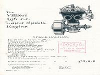 Villiers Motor 196 ccm