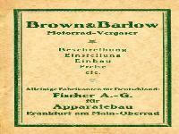 Brown & Barlow Motorrad-Vergaser