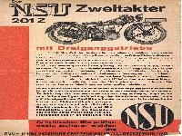 Der NSU Zweitakter 201 Z