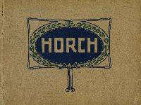 Horch - moderne Vierzylinder - Katalog 1911