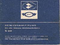 Betriebsanleitung Simson S 50