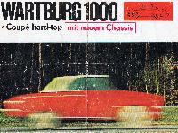 Wartburg 100 Coupé hard-top mit neuem Chassis