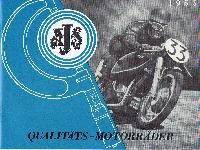 1955 AJS Qualitäts-Motorräder