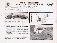 Zündapp Technische Mitteilungen 20