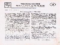 Zündapp Technische Mitteilungen Dezember 1950 - 3 Teleskopgabel DB 201