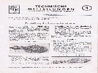 Zündapp Technische Mitteilungen Januar 1951 - 4 Einstellung der Hinterachsgetriebe