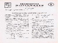 Zündapp Technische Mitteilungen Januar 1951 - 5 Getriebeeinstellung DB 200 und DB 201