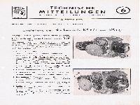 Zündapp Technische Mitteilungen Oktober 1950 - 6 Einstellung der Nockenwelle KS 600 und KS 601