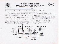 Zündapp Technische Mitteilungen Mai 1952 - 9 Getriebeeinstellung DB 202, Comfort und Norma