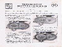 Zündapp Technische Mitteilungen Juni 1952 - 11 Ein- und Ausbau der Kupplung DB 202, Comfort und Norma
