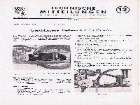 Zündapp Technische Mitteilungen Mai 1953 - 12 Geschlossener Kettenschutz für Comfort