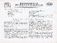Zündapp Technische Mitteilungen Februar 1954 - 14 Hinweise für verschiedene Baumuster