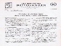 Zündapp Technische Mitteilungen Oktober 1954 - 16 Hinweise für die Baumuster Bella R 150, Bella R 200 und Elastic
