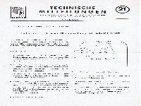 Zündapp Technische Mitteilungen April 1956 - 21 Einbau der elektrischen Blinkeinrichtung bei Bella R 151/201