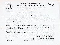 Zündapp Technische Mitteilungen Juni 1956 - 24 Klinkenträger für Zielkeilgetriebe
