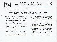 Zündapp Technische Mitteilungen April 1957 - 27 Elektrische Störungen bei Bella mit Anlasser R 151, R 153, R 154, R 201 und R 203