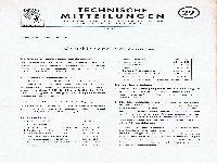 Zündapp Technische Mitteilungen Juni 1957 - 29 Verschiedene Neuerungen