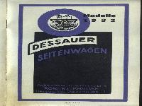 Dessauer Seitenwagen Modelle 1932