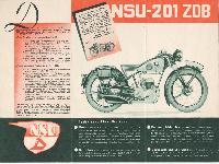 NSU-201 ZDB mit 4-Gang-Getriebe