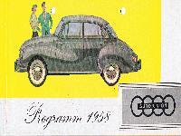Auto Union Programm 1958