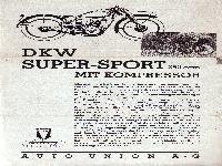 DKW Super-Sport 250 ccm mit Kompressor
