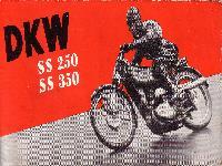 DKW SS 250 und SS 350