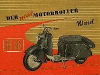 Der neue Motorroller SR 56 Wiesel
