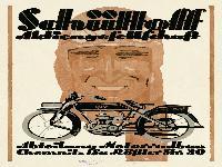 Schüttoff Einzylinder-Kraftrad 2 3/4 PS
