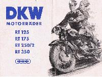 DKW Motorräder RT 125, RT 175,  RT 250/2, RT 350