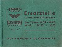 W35 W40 W45 W50 W51 Ersatzteile Liste
