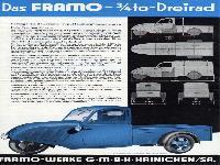 Das FRAMO 3/4-Tonnen Dreirad