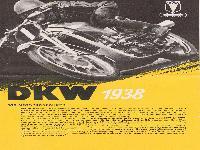DKW Motorräder 1938