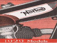 Norton 1929 Models