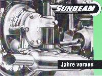 SUNBEAM Modell S 7 Tourist-Luxus und Modell S 8 Sport-Tourist