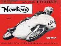 NORTON mit der besten Straßenlage der Welt 1962