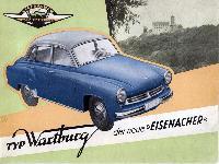 """Typ Wartburg - der neue """"EISENACHER"""""""