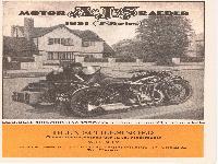 """A.J.S. Motorräder 1931 """"S"""" - Series"""
