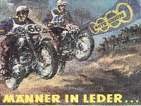 Auto Union - Männer in Leder ...